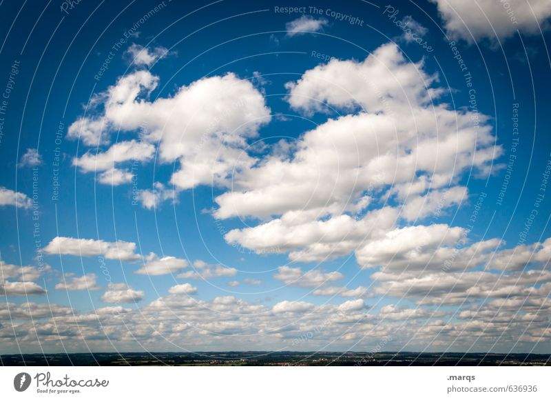 to the horizon Trip Far-off places Freedom Environment Nature Landscape Sky Clouds Horizon Summer Climate Beautiful weather Relaxation Simple Natural Moody