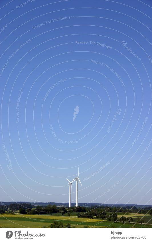 Sky Landscape Energy Energy industry Electricity Wind energy plant Baden-Wuerttemberg