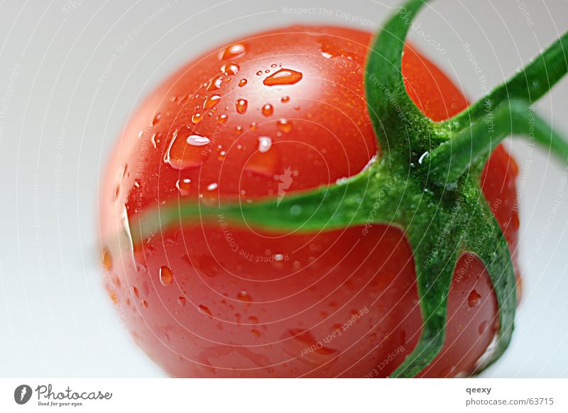 Green Red Healthy Fresh Tomato Vitamin Juicy