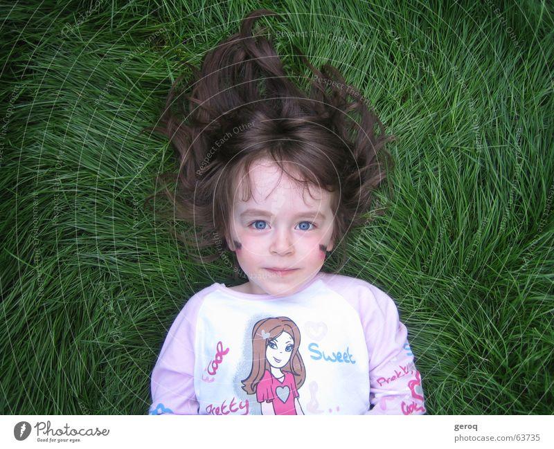 Lawn child Grass Child Germany blue eyes