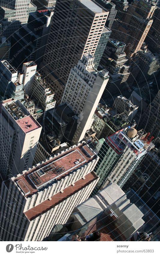 Building High-rise Bird's-eye view To fall Deep Sudden fall New York City