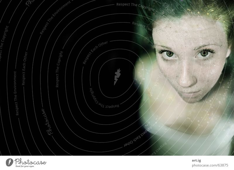 underwaterlove Loneliness Doomed Ocean Beach Water Sand Deep Eyes Blue Drops of water eye