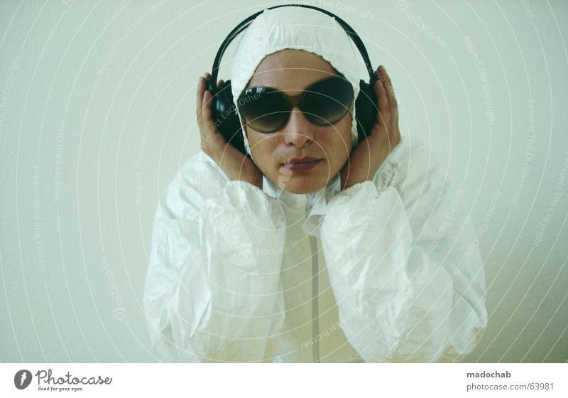 CANT HEAR YOU | Man Headphones Music Streaming Download Redecorate Audience Doctor Technology High-tech Human being Young man Youth (Young adults) Hand Concert