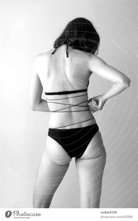 Woman Legs Back Hind quarters Bikini