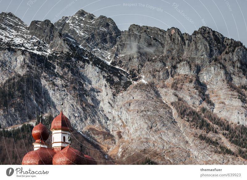Nature Vacation & Travel Colour Sun Landscape Winter Mountain Snow Tourism Perspective Trip Church Romance Tower Peak Target