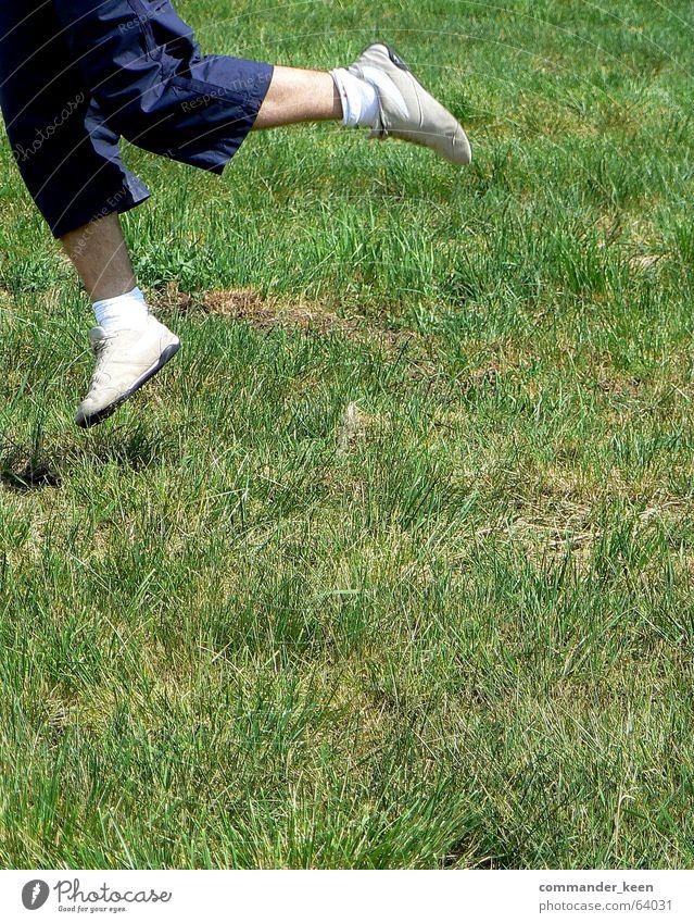 White Meadow Jump Grass Freedom Footwear Skin Small Fluid Stupid Hop