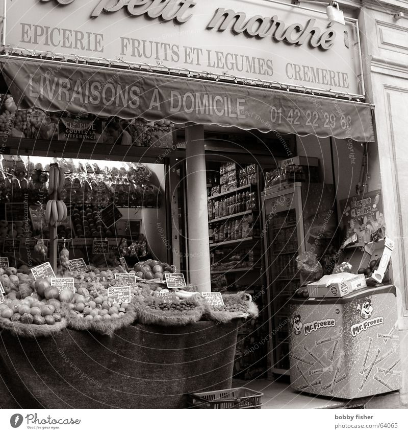Nutrition Food Store premises Paris Vegetable France Markets