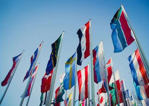 international salon Event Cloudless sky Collection Flag Authentic Long Reliability Many Sympathy Freedom Society Might Politics and state Tradition