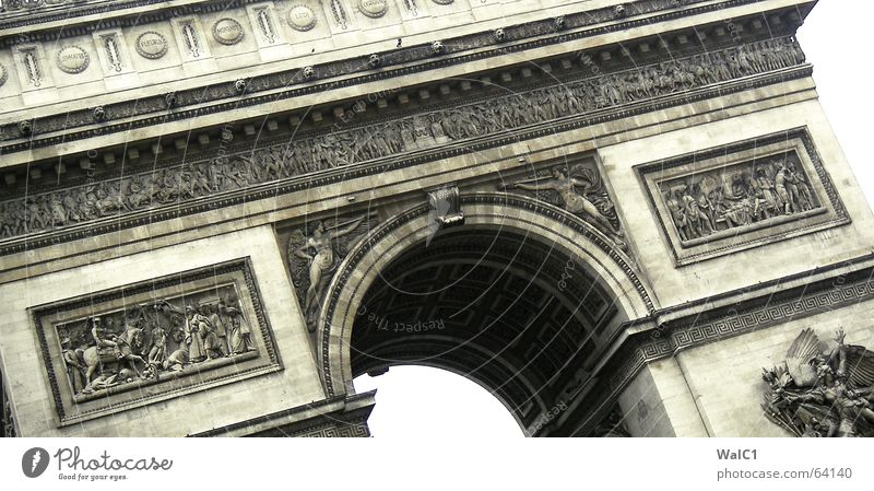 Art Success Construction site Paris France Manmade structures Landmark Arch Tourist Attraction