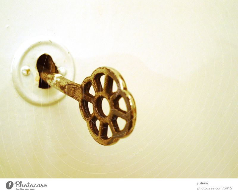 Door Living or residing Castle Key Brass