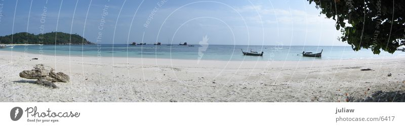 Koh Lipe Thailand Beach Ocean Panorama (View) Watercraft Los Angeles Large Panorama (Format)