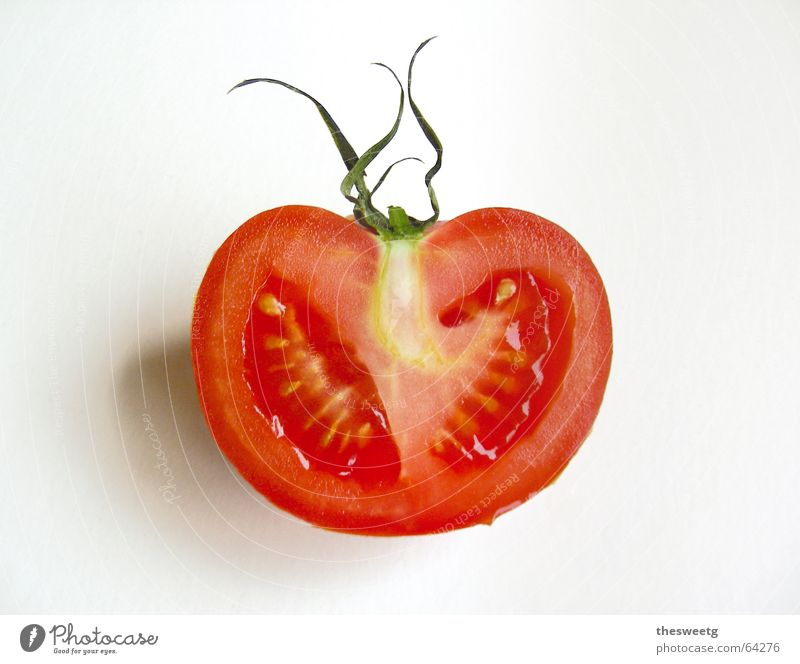 tomato Ketchup Sliced Solanaceae Average Red Juicy Anatomy Fruit flesh Life Tomato more tomato Vegetable Candied apple Character Vegetarian diet vegetarian