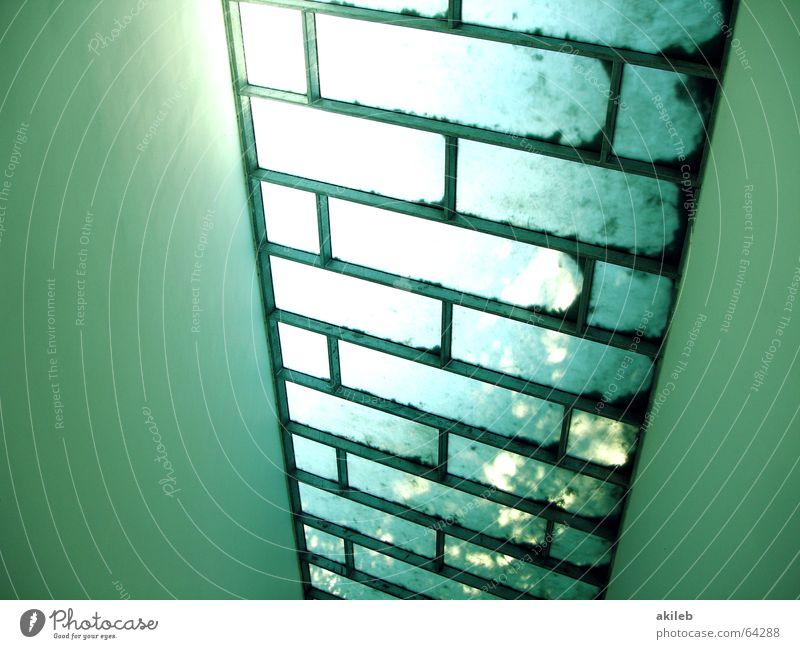 roof Light Window Pattern Green Hope Bright Sun
