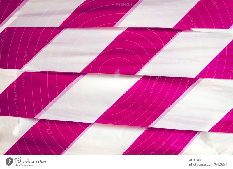 plaid Lifestyle Elegant Style Design Plastic Line Stripe Cool (slang) Pink White Target Checkered Background picture Colour photo Exterior shot Close-up