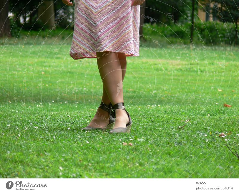Human being Beautiful Meadow Feet Park Footwear Legs