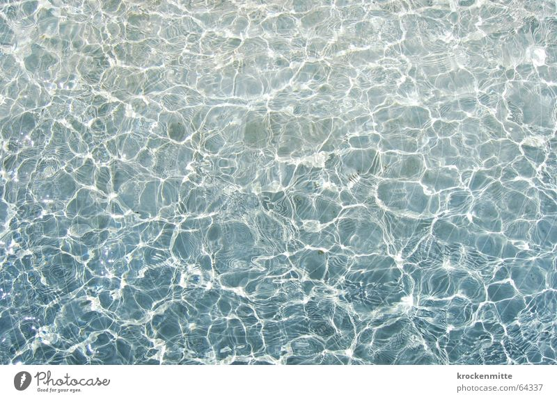 watery light Light Waves Reflection Surface of water Lausanne Swimming pool Well Wet Visual spectacle Water Movement ruffle ouchy