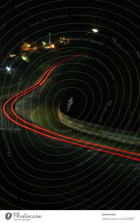 Tour de Nürburgring Long exposure Racecourse Night Racing line 24h 24 running Car rally cars luffing jumper brunny