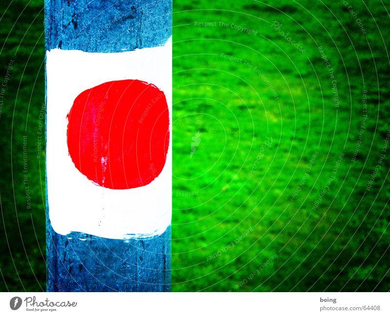 Sun Meadow Might Flag Signage Footpath Japan Rod Green tea