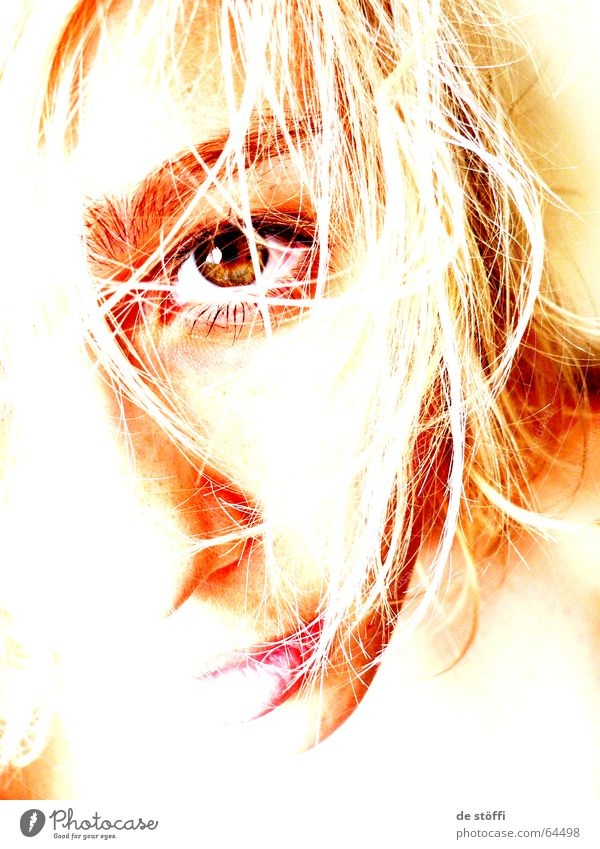 Woman Loneliness Face Eyes Sadness Bright Wait Future Grief Lips Longing Lady Ask Half Dazzle Detail of face