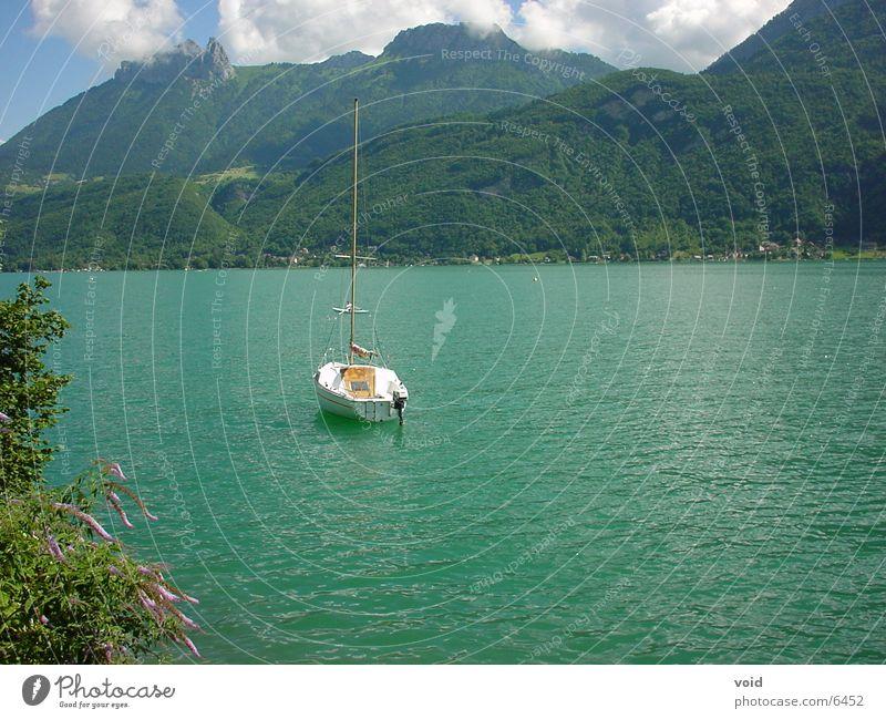sailboat Sailing Watercraft Lake Annecy France