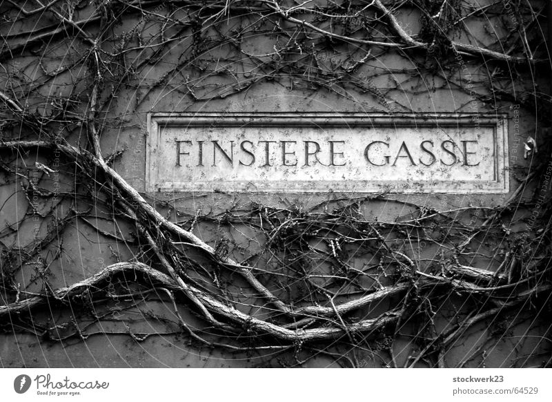 dark gases Augsburg Street sign Fairy tale Mystic uncontrolled growth ready for jointing social settlement Gothic period Gothic style Architecture