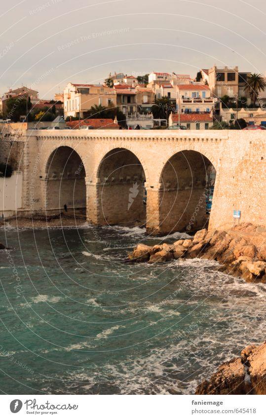 à la Corniche Landscape Water Summer Waves Coast Ocean Port City Bridge Landmark Street Vacation & Travel South Marseille la Corniche Kennedy Warm-heartedness