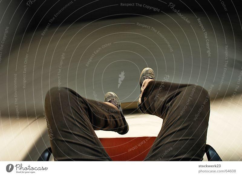 Legs Footwear Concrete Speed Pants Alcohol-fueled Self portrait Discern Vertigo Swivel chair
