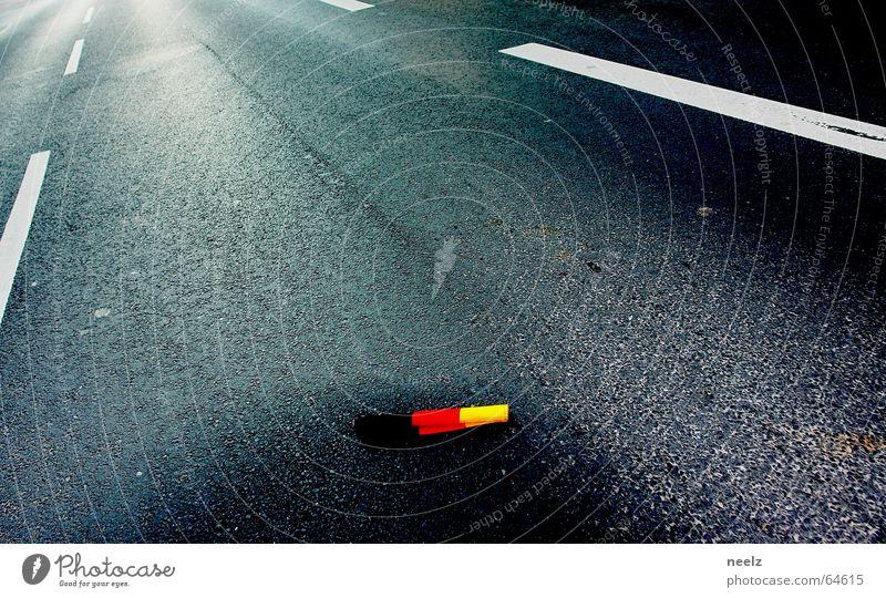 Street Flag German Flag Fan World Cup World Cup 2006