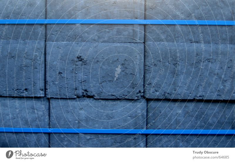 blue turning gray Rectangle Consecutively Stack Material Road construction Bound Connectedness Together Attachment Captured Stone Line Blue packet laced subdued