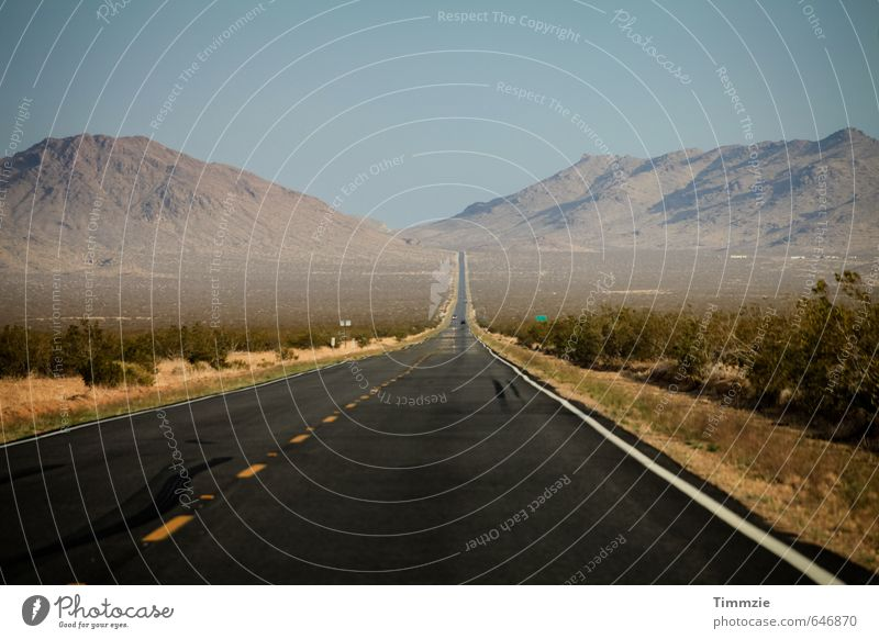 Vacation & Travel Summer Far-off places Mountain Street Lanes & trails Line Hill Desert Traffic infrastructure