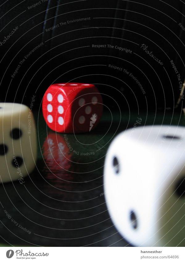 White Red Joy Black Dark Playing 2 Dice 3 5 6 Lose Game of chance