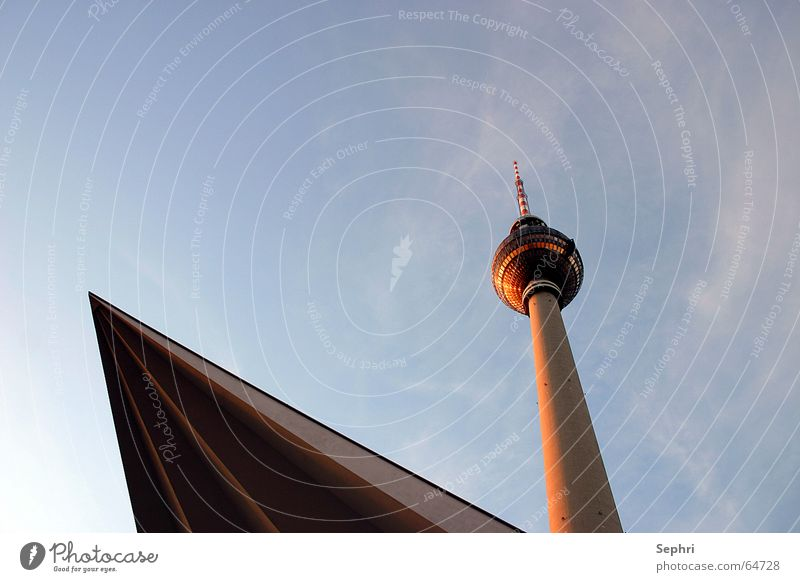 telespargel Berlin TV Tower Alexanderplatz Capital city