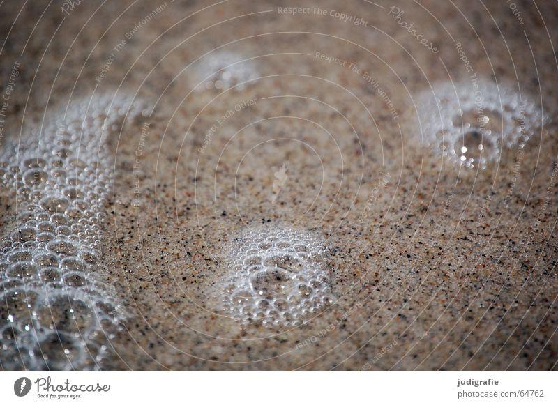 Water Ocean Beach Vacation & Travel Sand Air Wet Near Delicate Bubble Blow Easy Baltic Sea Fine Foam Salt
