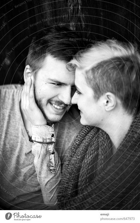 we Masculine Feminine Young woman Youth (Young adults) Young man Couple 2 Human being 18 - 30 years Adults Hip & trendy Beautiful Happy Laughter Happiness