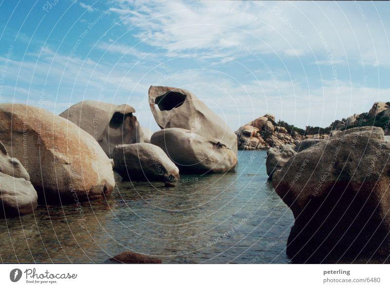 stony beach Beach Ocean Stone Water
