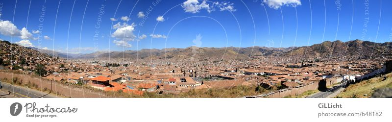 the navel of the world Vacation & Travel Tourism City trip Summer Architecture Landscape Beautiful weather Drought Mountain Andes Peak Snowcapped peak Cuzco