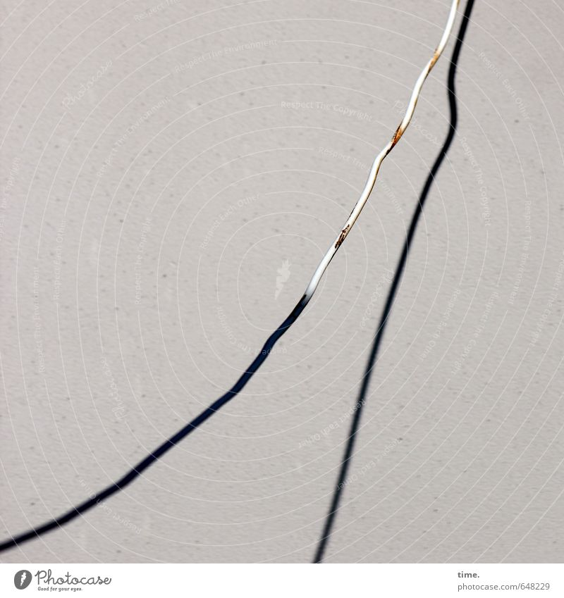 primary care Technology Energy industry Cable Electricity Wall (barrier) Wall (building) Facade Rust Stone Plastic Hang Old Sadness Fatigue Relationship