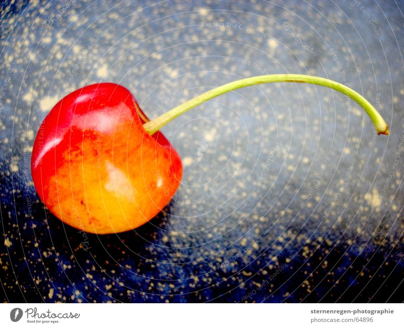 Red Yellow Fruit Fresh Cherry