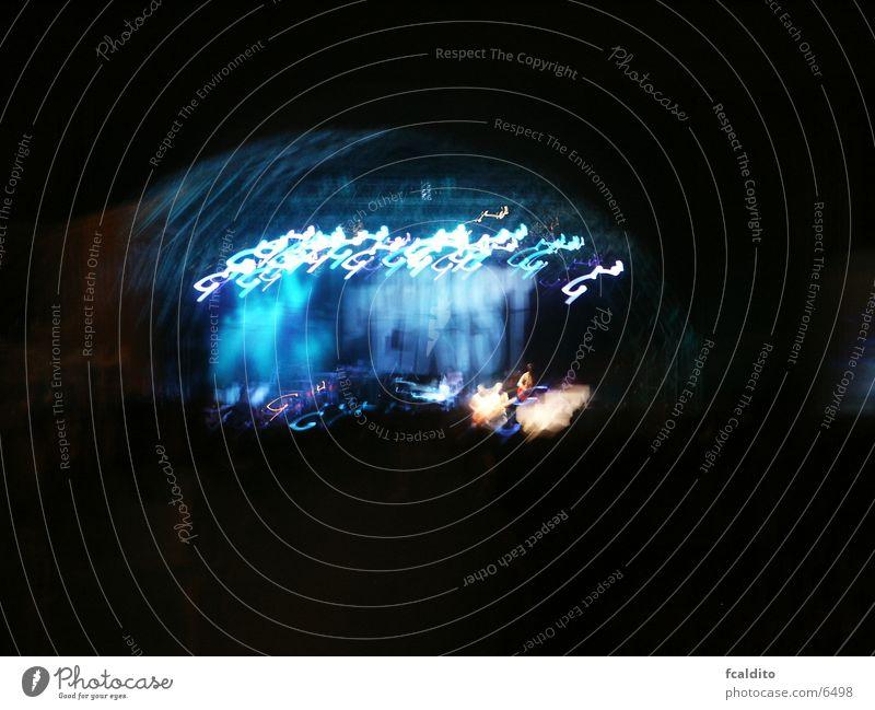 Far Exist Concert Music Group Rock music loud lights blue night