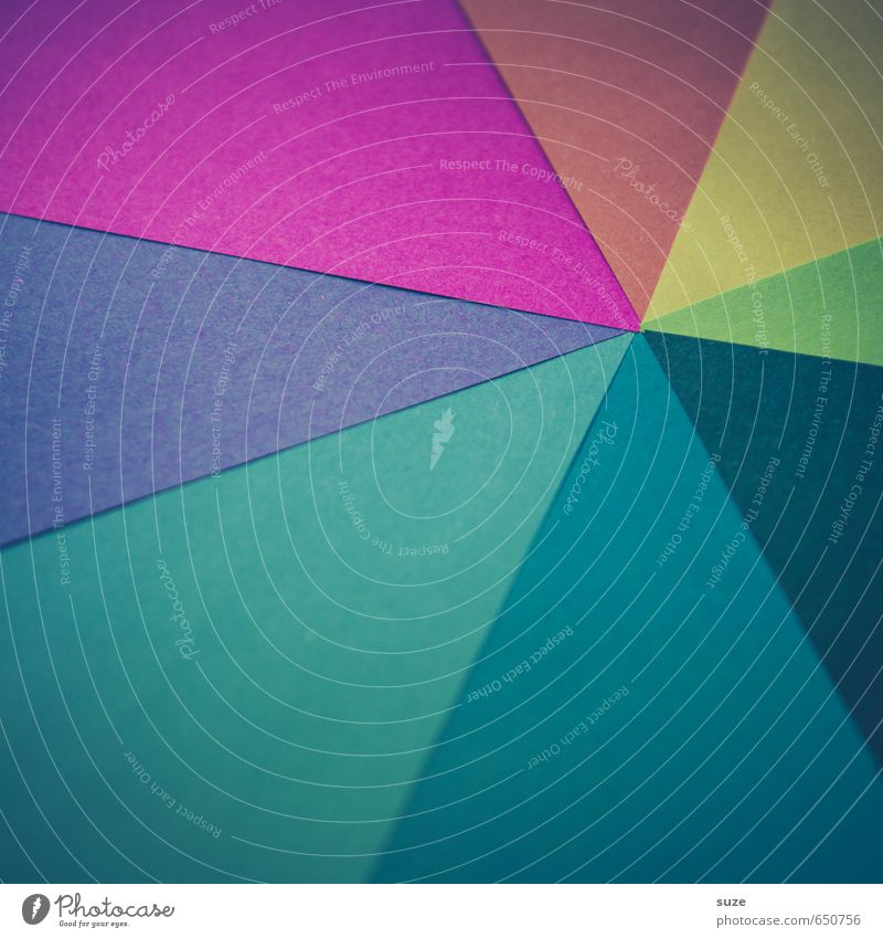 Blue Green Red Yellow Style Background picture Art Lifestyle Pink Design Leisure and hobbies Creativity Idea Retro Cute Paper