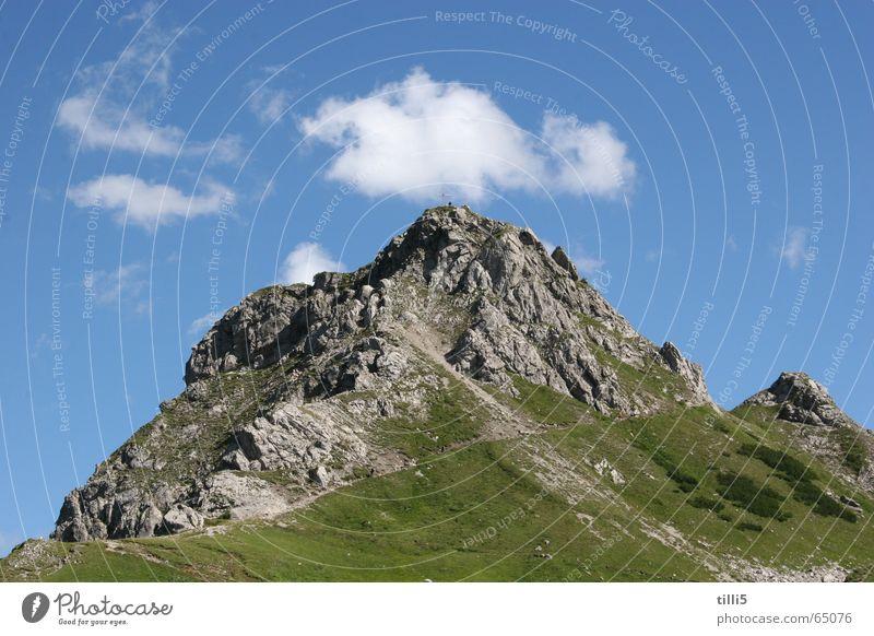 Sky Clouds Mountain Alps Austria
