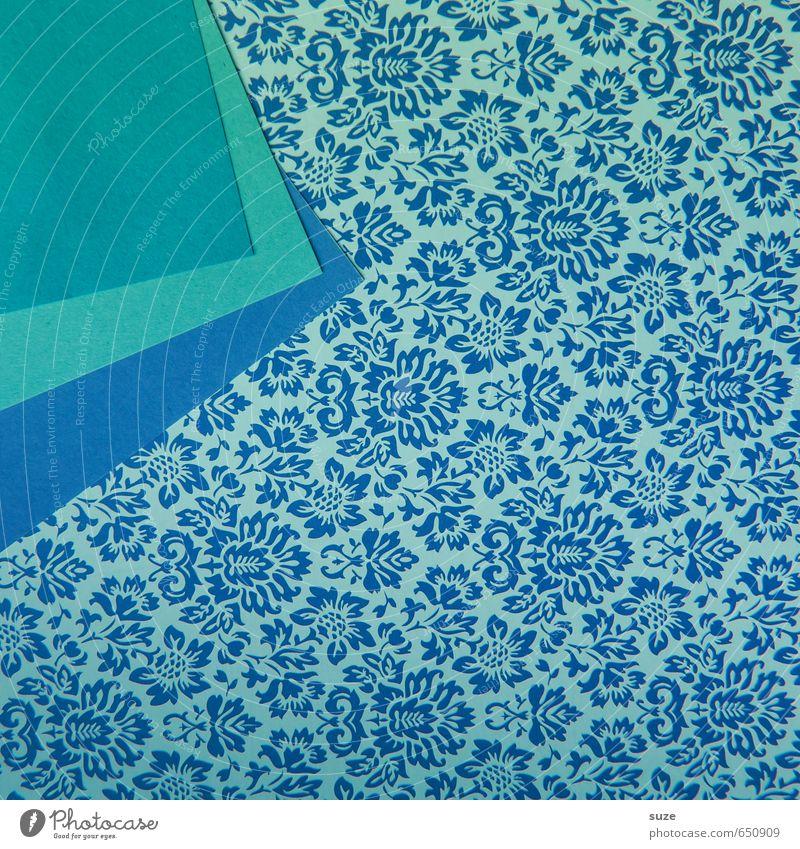 Mustafa11 Lifestyle Style Design Beautiful Leisure and hobbies Handicraft Art Stationery Paper Packaging Ornament Friendliness Kitsch Cute Retro Blue Turquoise