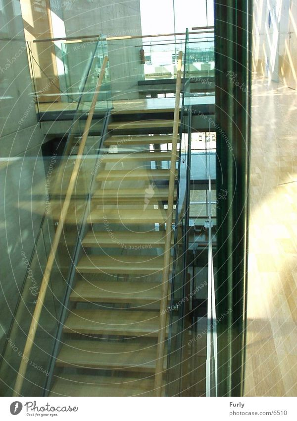 Berlin Architecture Glass Modern Stairs Interior design Staircase (Hallway) Glazing Modern architecture Berlin House of Represenatives