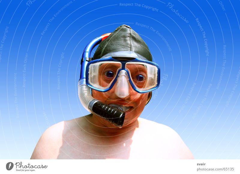 Water Crazy Eyeglasses Mask Dive Cap Stupid Diving equipment Baseball cap Leather hood