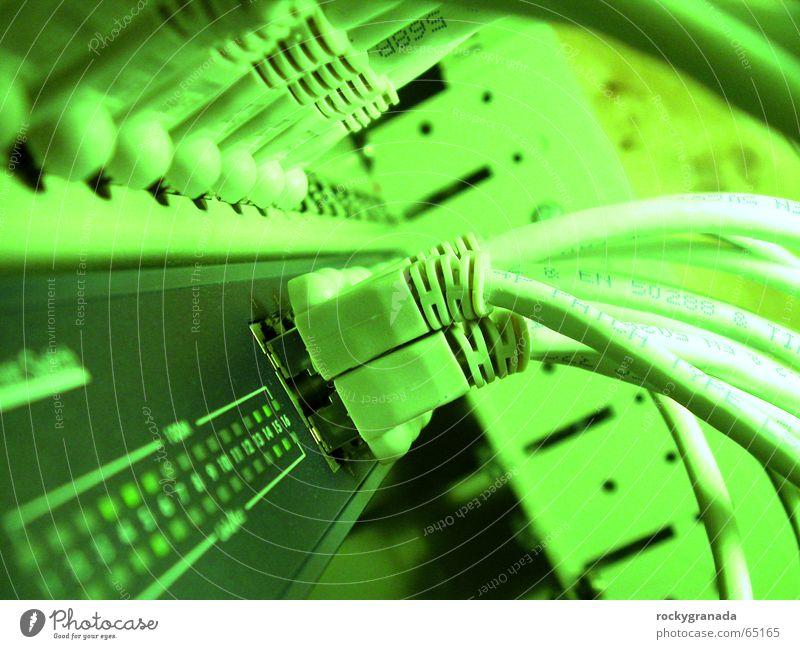 Network Cable Transmission lines Matrix