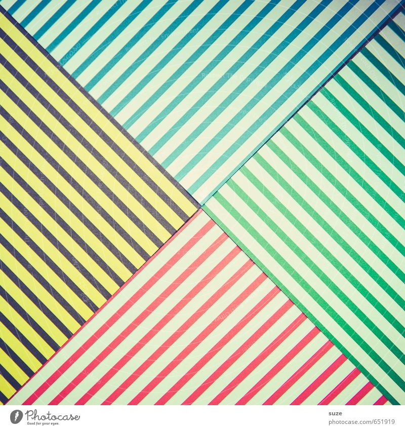 Blue Green White Red Yellow Style Art Lifestyle Design Leisure and hobbies Creativity Corner Idea Retro Cute Paper