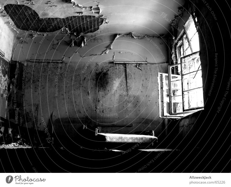 Old Sun Loneliness Relaxation Dark Window Bright Room Open Fear Dirty Poverty Broken Gloomy Grief Derelict