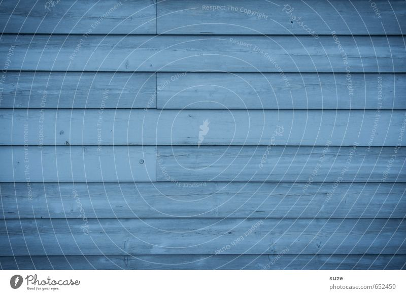 monotone Wall (barrier) Wall (building) Facade Wood Line Stripe Authentic Simple Cold Dry Blue Colour Fence Wooden board Background picture Wooden wall Wide