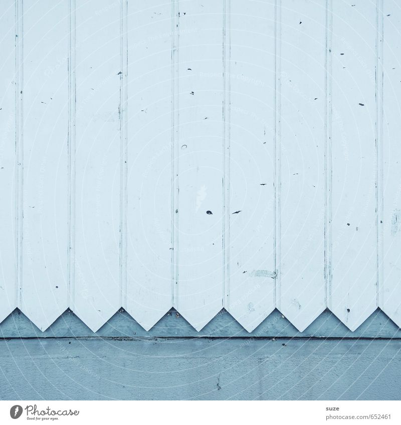 Old White Wall (building) Wall (barrier) Wood Line Bright Background picture Facade Gloomy Decoration Authentic Point Simple Construction site Sign