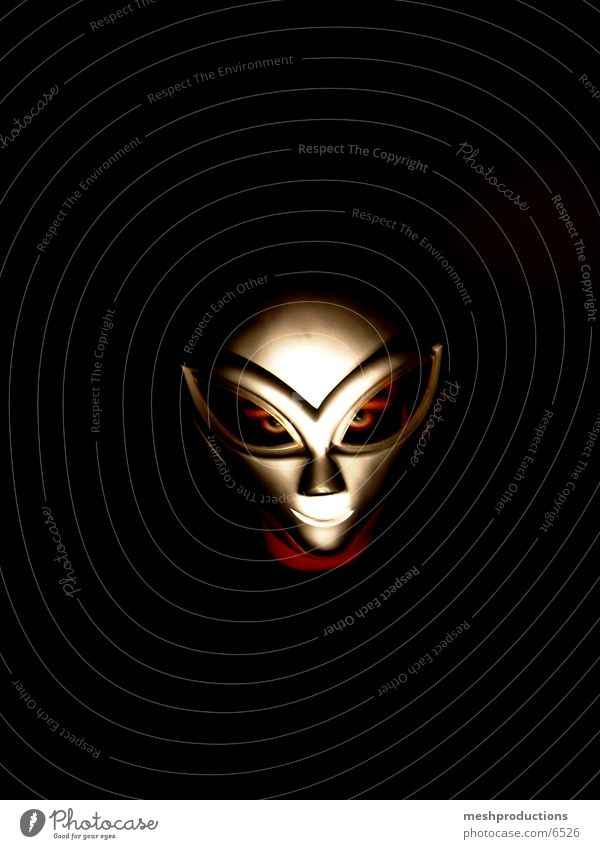 Alien Mask II Photographic technology Extraterrestrial being space carnival